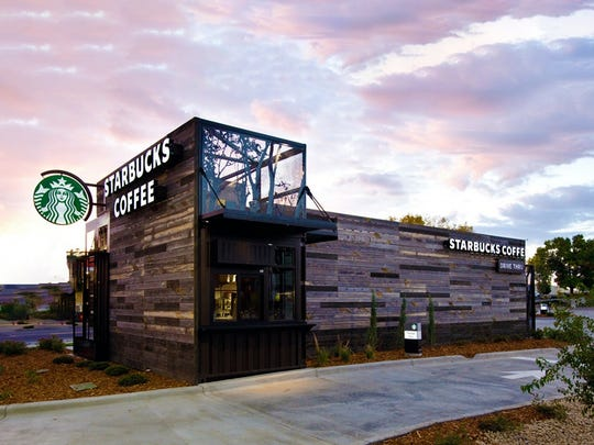 A conceptual image of a Starbucks store on East Main