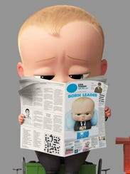 Alec Baldwin voices the well-read 'Boss Baby.'