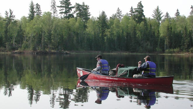 A weeklong canoe trip launches from Lake One Entry Point in the Boundary Waters Canoe Area Wilderness.