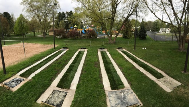 The Stevens Point Horseshoe Club spearheaded improvements and an expansion of the horseshoe pits at Mead Park in Stevens Point.