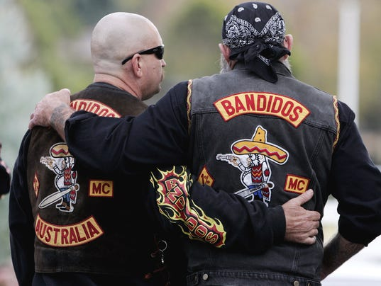 Two Faces Of The Bandidos Weekend Road Warriors Or
