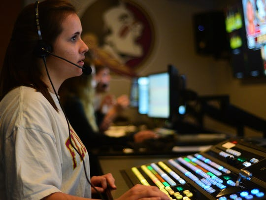 Seminole Productions frequently uses student interns