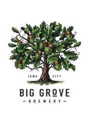Big Grove Brewery Iowa City logo