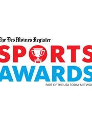 Des Moines Register Sports Awards logo