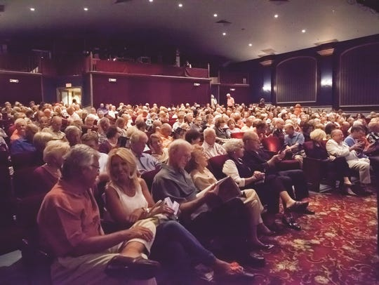 A packed house at Florida Rep