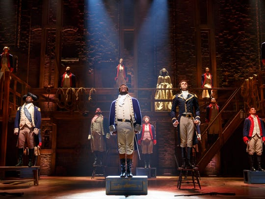 """""""Hamilton"""" will finally make it to Louisville in June of 2019 as part of the PNC Broadway in Louisville series."""
