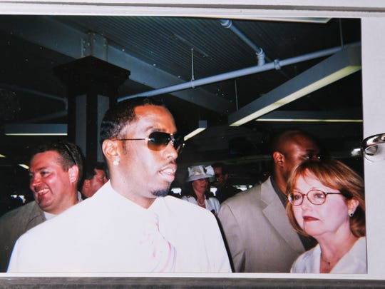Don Kleier snapped this shot of Puff Daddy while at Churchill Downs in the 1990s.