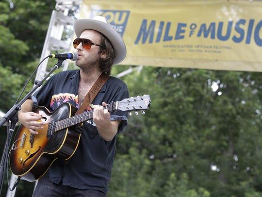 Andrew Combs of Nashville will be among the familiar