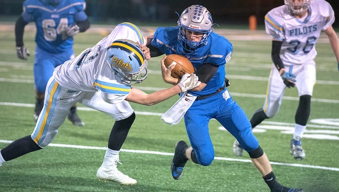 Zach Hoffman will be under the center one more time as a Wynford player Saturday in the NCOFCA All-Star Game.
