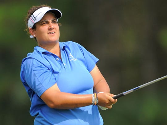 Former Florida Tech national champion golfer Daniela Iacobelli of Satellite High is playing on the Symetra Tour, trying to re-earn her full LPGA card. She was surprised to hear FIT will be folding its women's golf program.