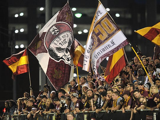 Detroit City FC has been a big hit with fans at Cass