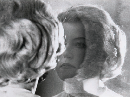 """""""Untitled Film Still #56"""" by Cindy Sherman is part of the Des Moines Art Center show """"Selfies: Self-Portraits from the Permanent Collection."""""""