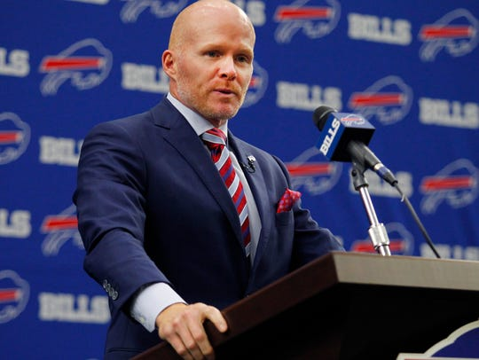 Sean McDermott is making wholesale changes to the Bills