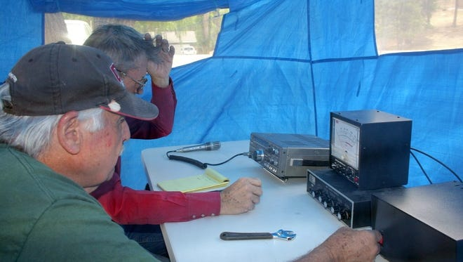 The public can watch as amateur radio operators practice their skills during a field day in Ruidoso.