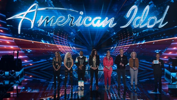 "AMERICAN IDOL - ""116 (Top 7)"" - The Top 7 finalists"