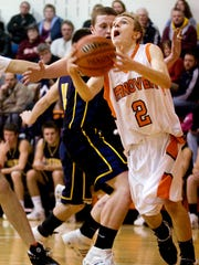 Jordan Martz played basketball at Hanover High School