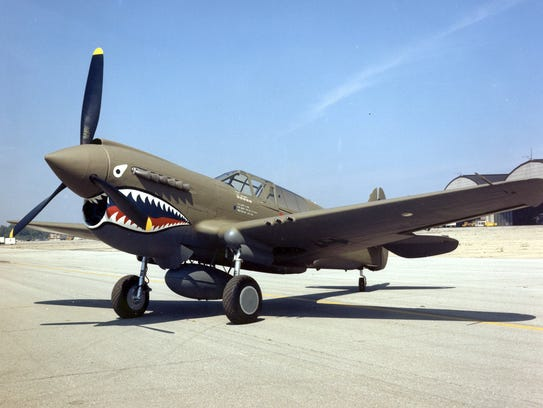 The Curtiss P-40 is one of the most recognizable fighters