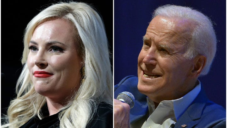 Joe Biden comforted Meghan McCain on 'The View' about her dad's cancer: 'You have to have hope'