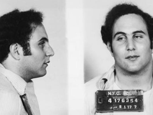 """David Berkowitz, also known as the """"Son of Sam"""""""