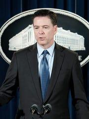 FBI Director James B. Comey