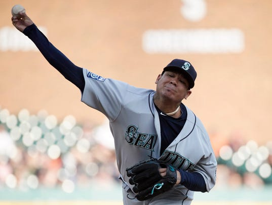 MLB: Seattle Mariners at Detroit Tigers