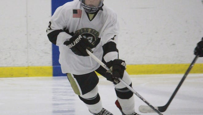 Nick Godfrey (93) had the game-winning goal in a 4-1 Southern win over Brick on Friday.