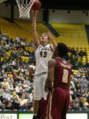 William & Mary coach Tony Shaver says  senior forward