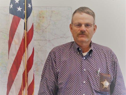 Lincoln County Sheriff Robert Shepperd