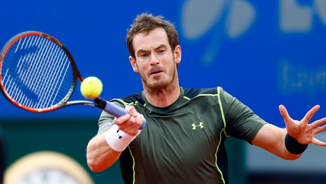 The BMW Open final between Andy Murray and Philipp Kohlschreiber was postponed by rain Sunday.
