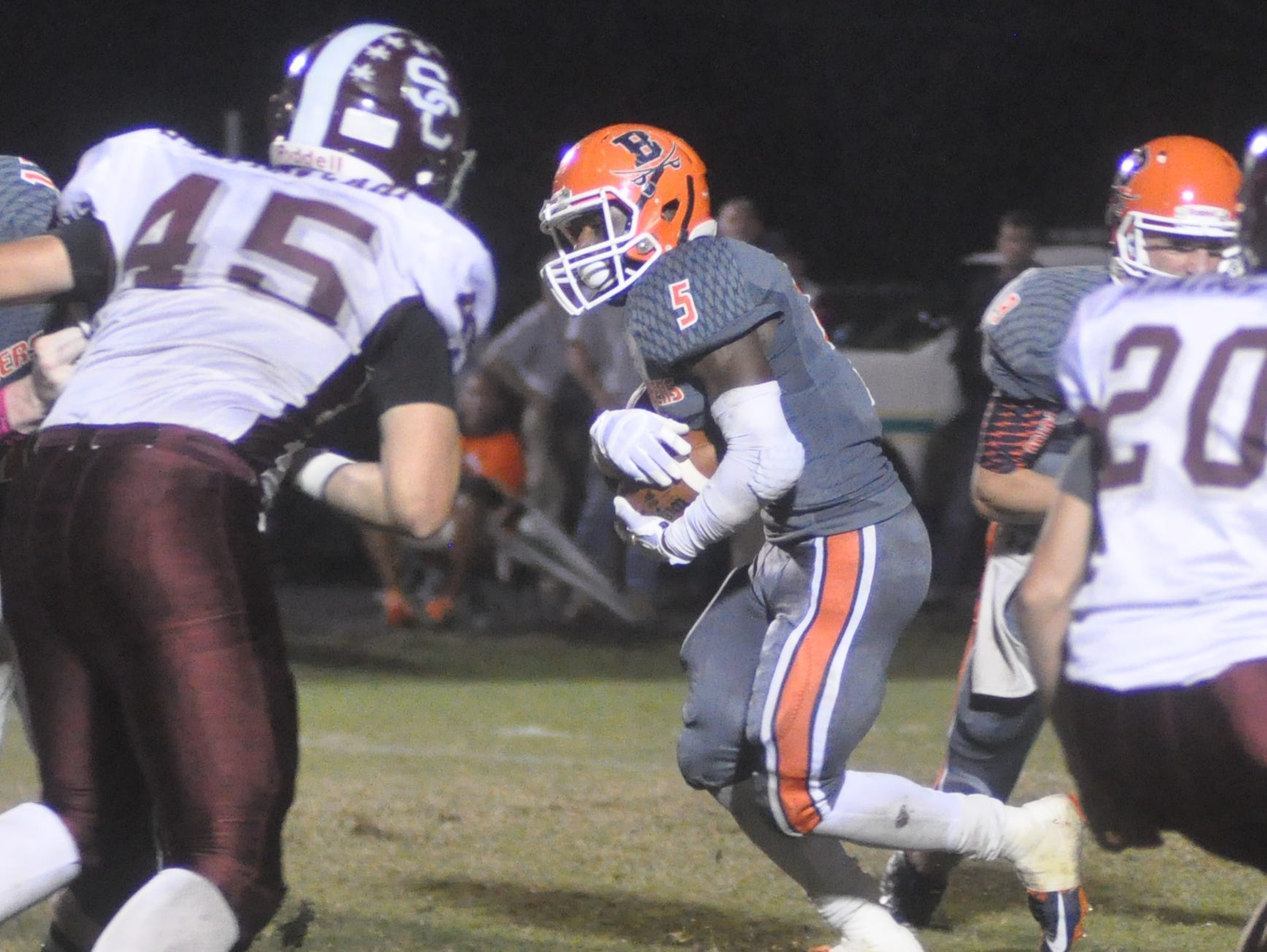 Beech senior tailback Rodrick Napper rushed for 176 yards and two touchdowns in Friday's 41-14 victory over Station Camp.