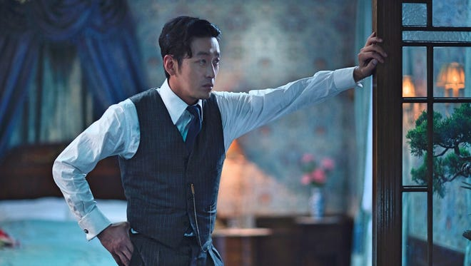 "Count Fujiwara (Jung-woo Ha) has some plans for Hideko in ""The Handmaiden."""