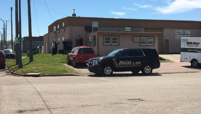 Police are on the scene of a death investigation in northern Sioux Falls.