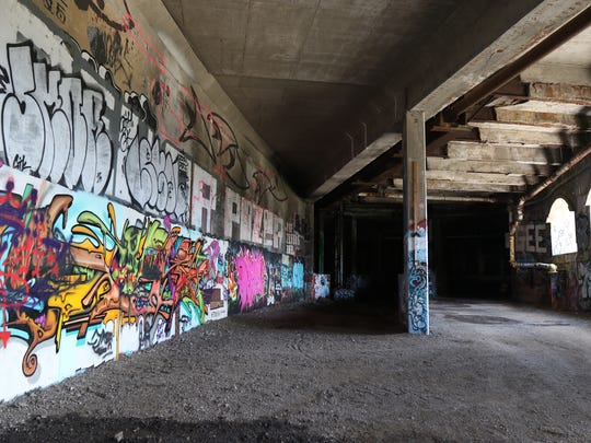The city, if the legislation is approved, would put up its own money along with a state grant to create the public walkway.