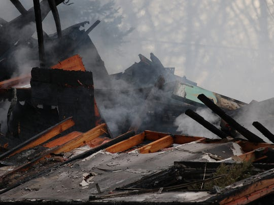 When a gas explosion and fire destroyed a home in Henrietta,