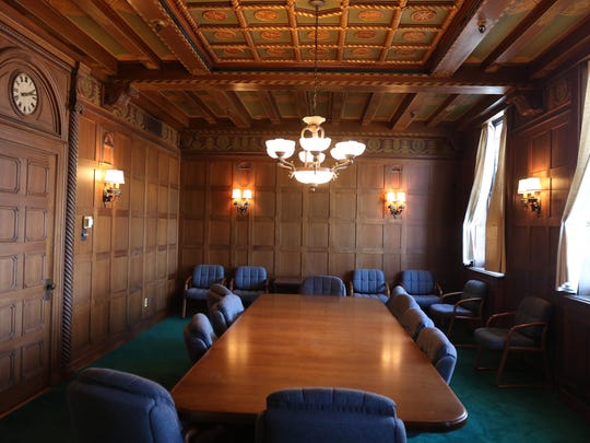 Sibley boardroom is one of the spots in the Sibley Building which is on the National Registry of Historic Places that can't be altered.