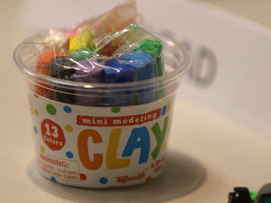 This modeling clay had tested positive for cadmium and lead.