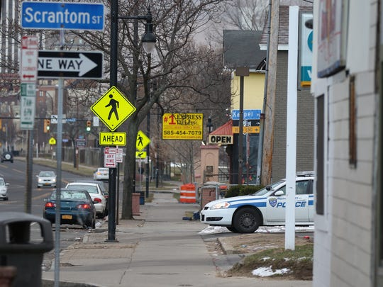 File photo: Rochester Police Department started a focus on the North Clinton Avenue corridor in 2016 to determine what factors contributed to the drug problem there.