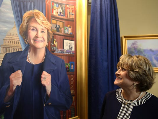 Official Capitol portrait of Louise Slaughter
