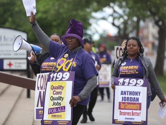 Strike Anthony Jordan Health Center
