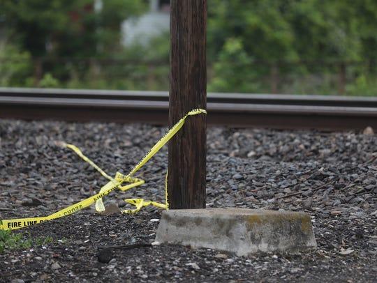 Fatal crash between a pedestrian and a train happened