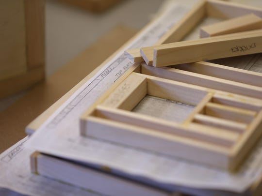 Hope Hall high school students can learn to build things from scratch in the woodworking class. The school was awarded $50,000 in 2018 through the Gannett Foundation's A Community Thrives social impact program.