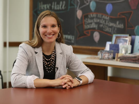 Jennifer Baker is the coordinator of career and college transition at Hope Hall in Gates, NY.