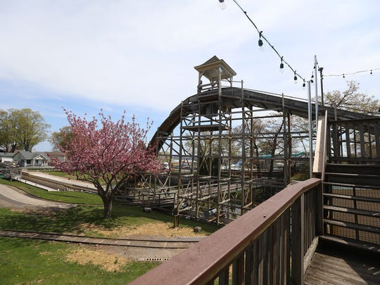 The Log Flume is similar to the old Over the Falls ride.