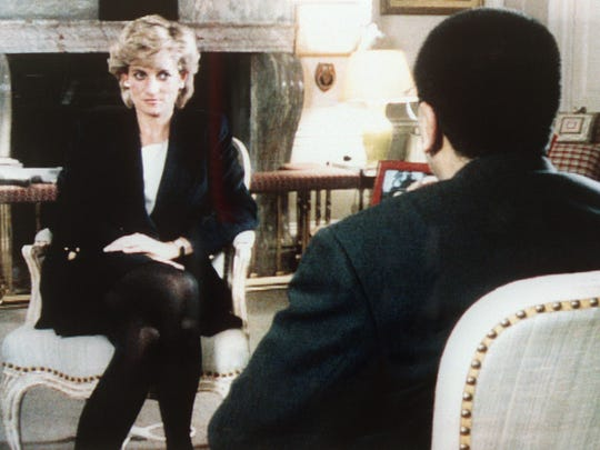 The Princess of Wales is interviewed by the BBC's Martin