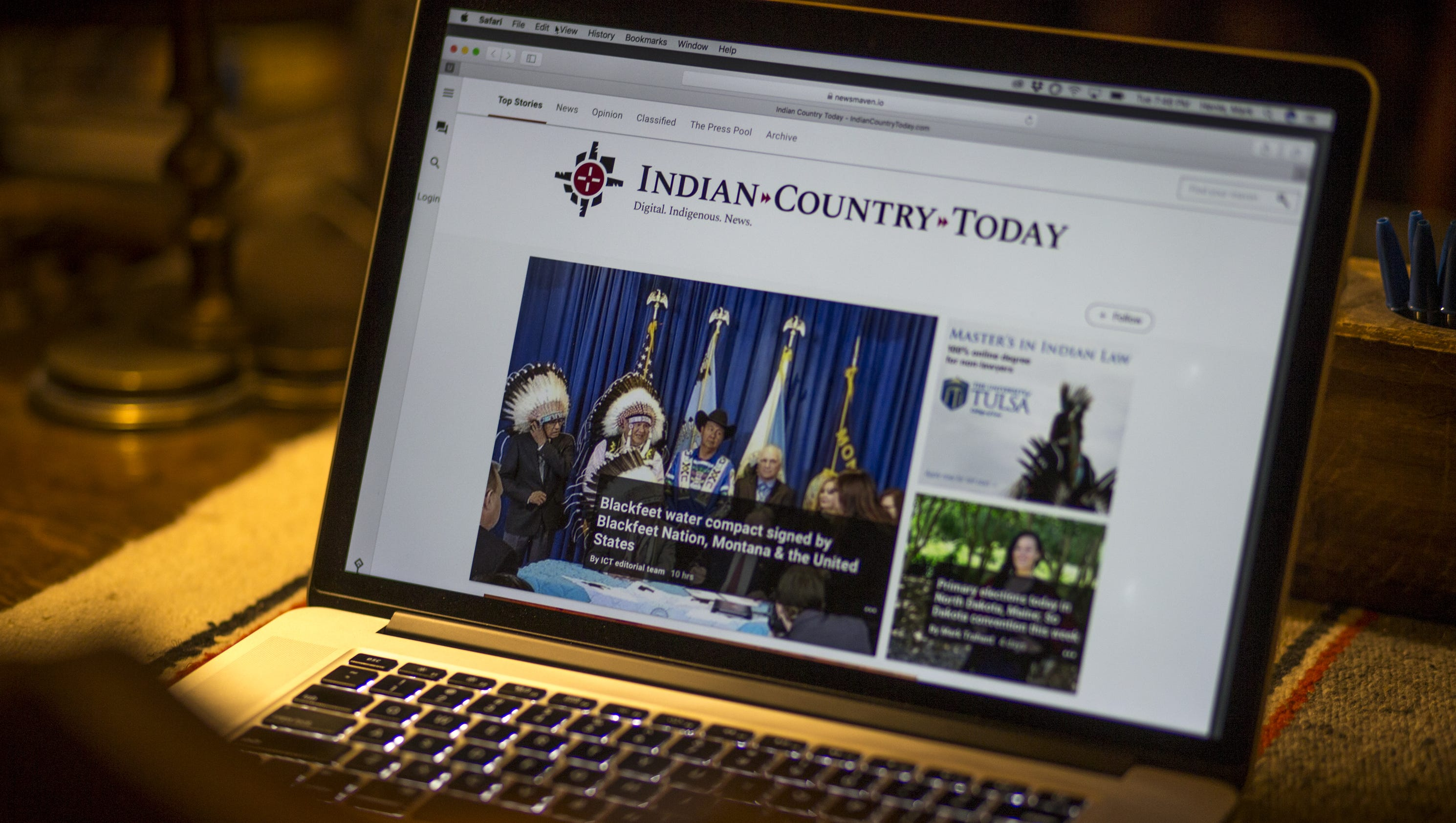 Indian Country Today, revived after closure, aims to cover ...