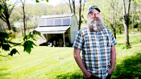 Scott Noethen, owner of Appalachian Renewable Resources,