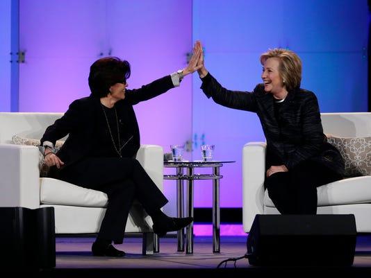Hillary Rodham Clinton, Kara Swisher