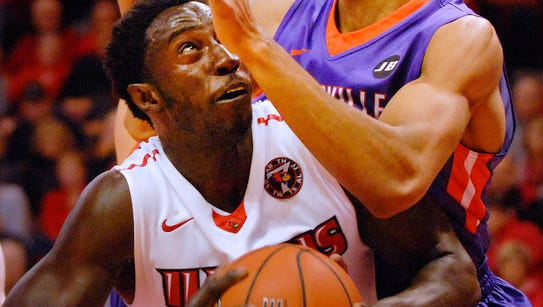 Illinois State center Daouda Ndiaye and the Redbirds