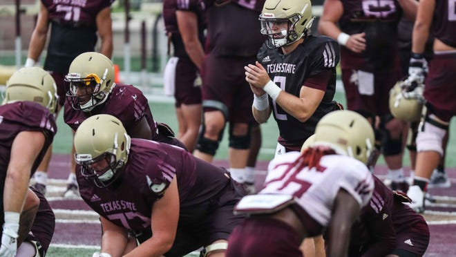 Texas State quarterback Brady McBride, a 2019 transfer from Memphis who sat out last season, was named the Bobcats' starter this week. The team opens their season Saturday night at home against SMU.