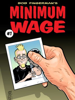 """The 1990s comic series """"Minimum Wage"""" returns in 2014 with new issues from creator Bob Fingerman."""